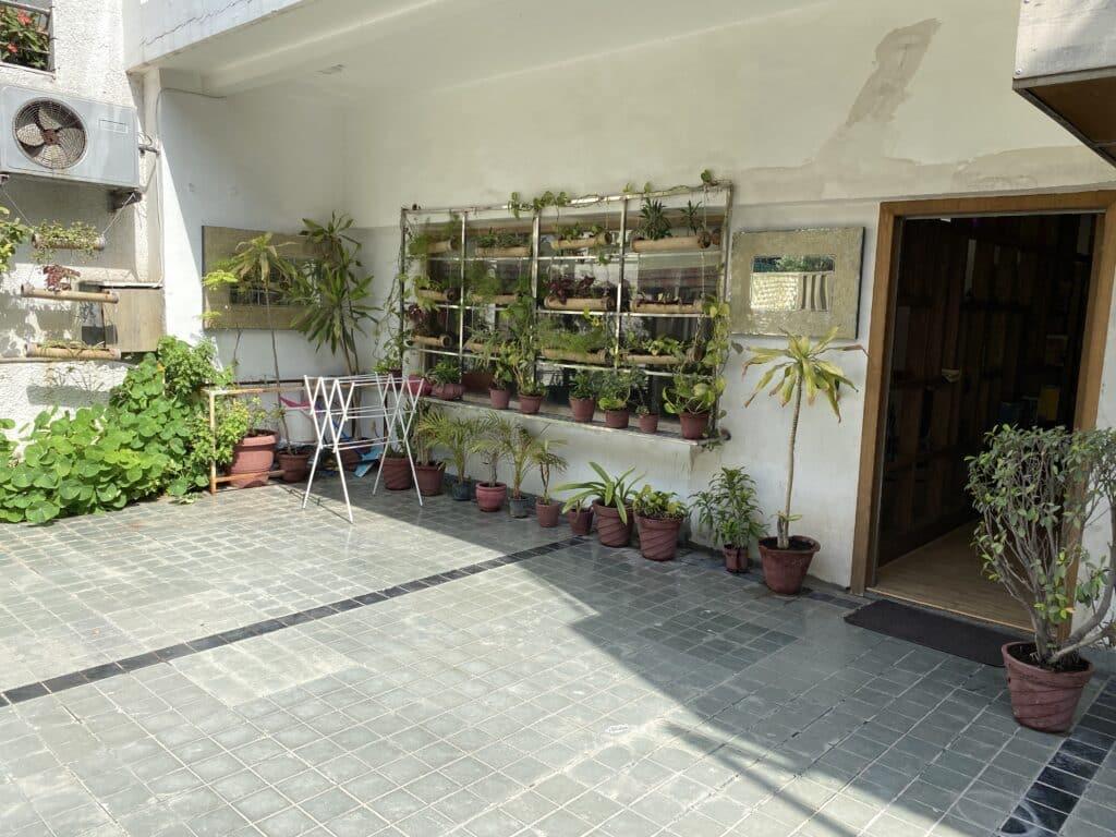 Entering Gogia Residence