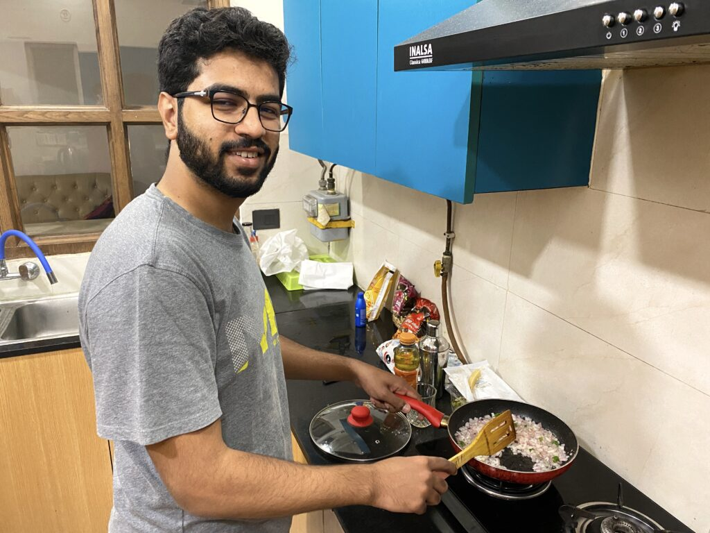 Master chef at work...
