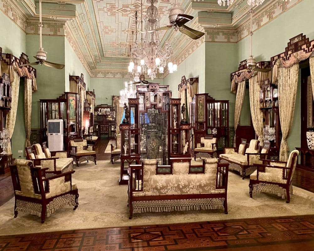 Jade Room at Taj Falaknuma Palace