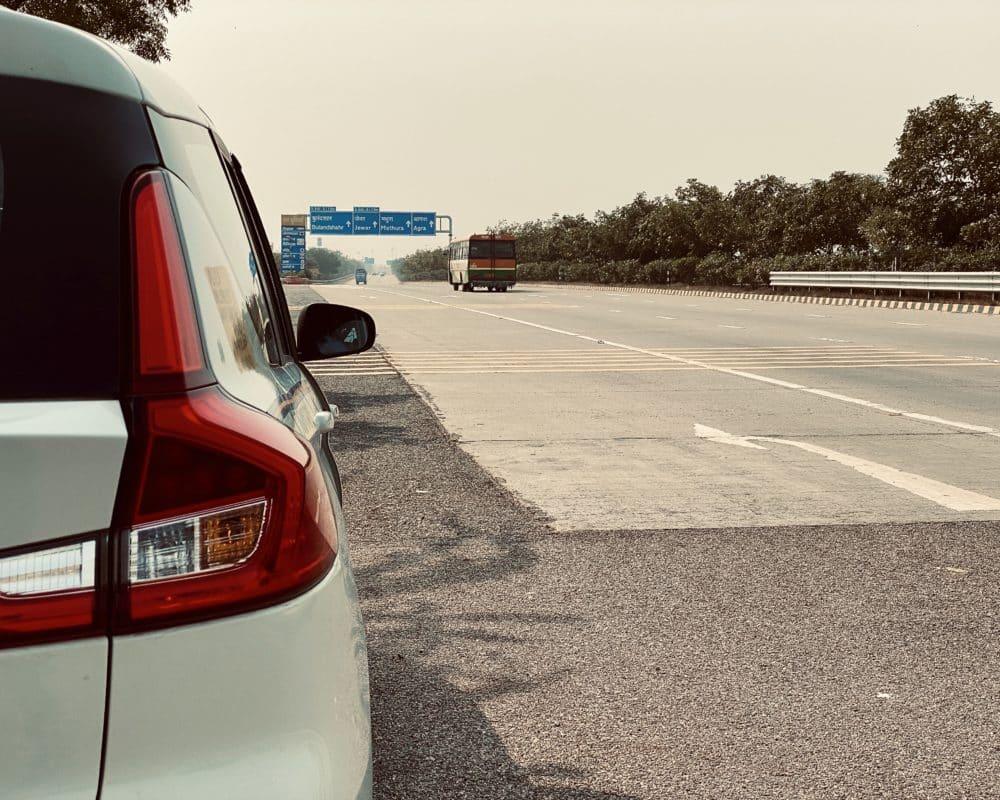 Delhi to Agra Yamuna Expressway
