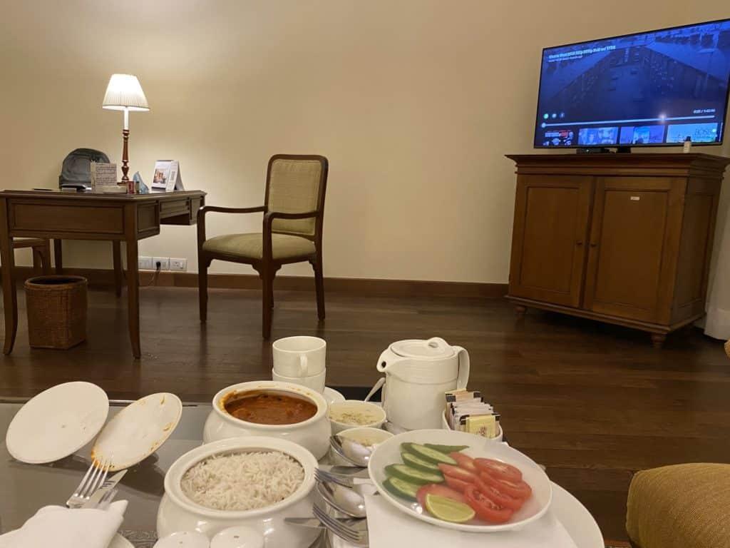 Maidens Hotel inroom dining