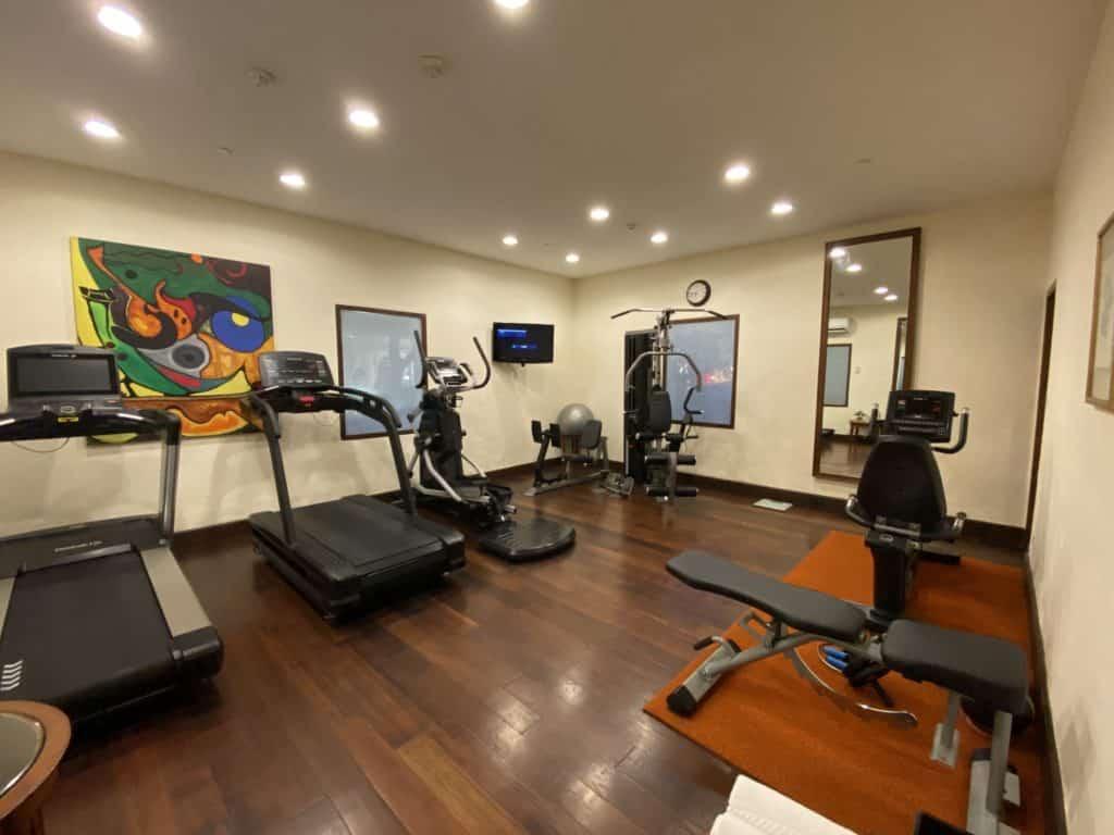 Maidens Hotel gym