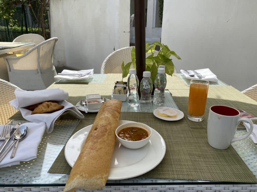 Maidens Hotel breakfast